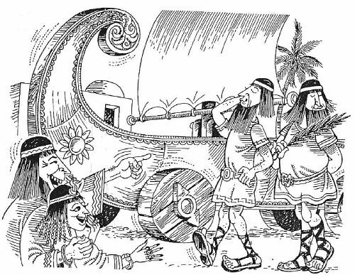De Grieken haalden jaarlijks Bacchus binnen op een scheepswagen. Het verhaal gaat dat deze wagen in de loop der tijd de naam Carrus Navalis kreeg.
